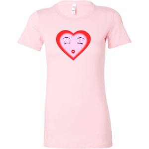 Dreamy Heart (Bella Womens Shirt)