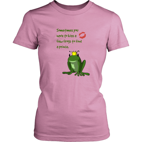 T-shirt - Frog Prince (District Women Shirt)