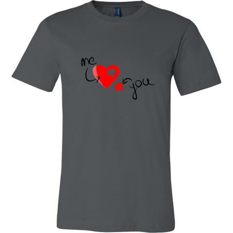 T-shirt - Heart Puzzle (Me & You)
