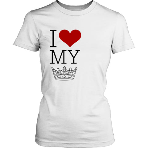 T-shirt - I Heart My King