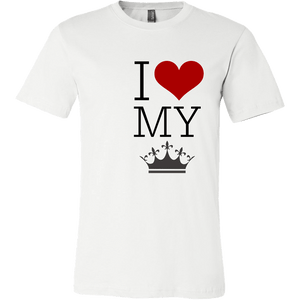 T-shirt - I Heart My Queen
