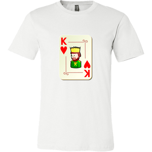 King and Queen of Hearts (Men's T-Shirt)
