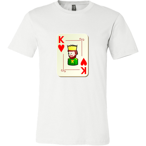 T-shirt - King And Queen Of Hearts (Men's T-Shirt)