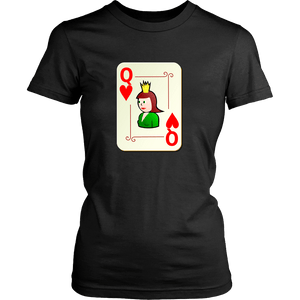 T-shirt - King And Queen Of Hearts (Women's T-Shirt)