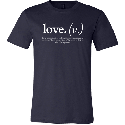 Image of T-shirt - Love Is Not Ambitious (Men's T-Shirt)