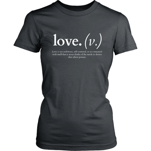 Image of T-shirt - Love Is Not Ambitious (Women's T-Shirt)