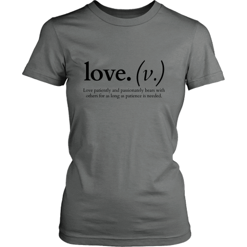Image of T-shirt - Love Patiently And Passionately (Hoodie)
