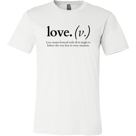 Image of T-shirt - Love Strains Forward (Men's T-Shirt)