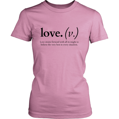 T-shirt - Love Strains Forward (Women's T-Shirt)