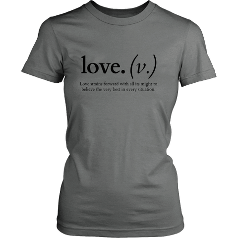 Image of T-shirt - Love Strains Forward (Women's T-Shirt)
