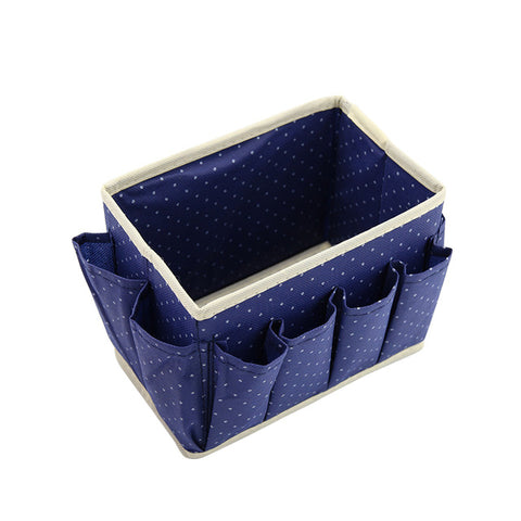Image of CUTE DOTS COSMETIC MAKEUP ORGANIZER