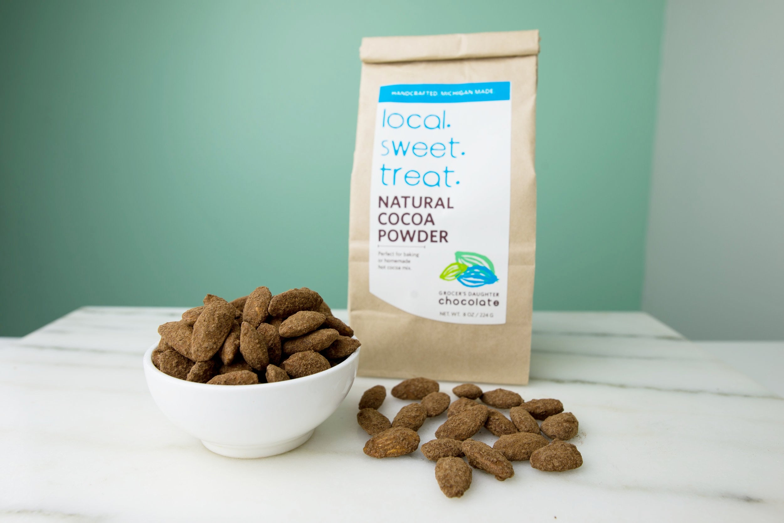 Recipe: Cocoa Roasted Almonds from Toot Sweet
