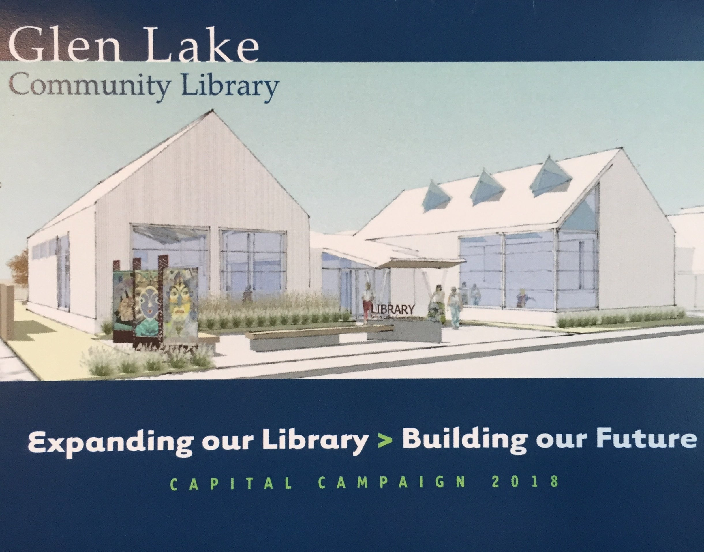 Join us to raise money for our new library!