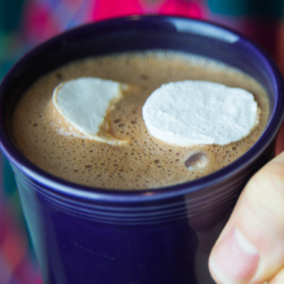 Hot Drinking Chocolate (Dragon's Breath, Spiked, Vegan and Homemade Marshmallows, too)!