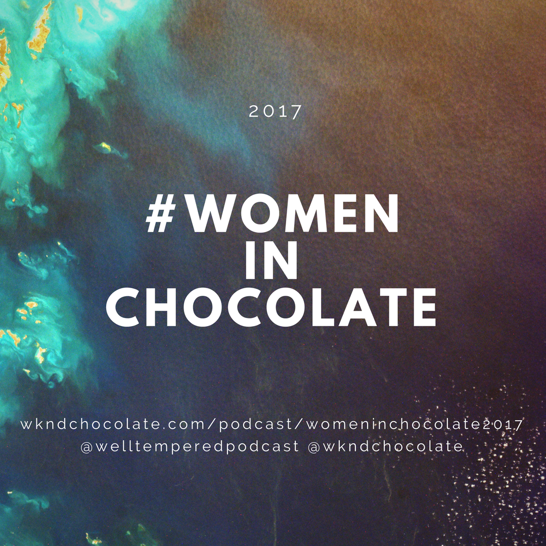 Excited to be included in this wonderful round-up of #womeninchocolate2017