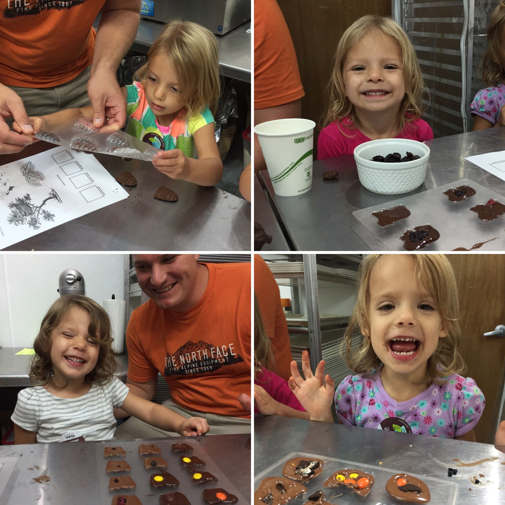 Kiddo's Chocolate Making Class - Contact us to schedule