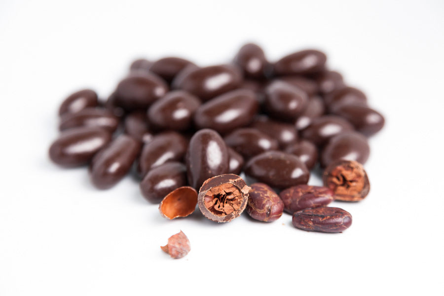 Chocolate Covered Cacao Beans