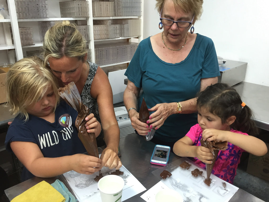 Kiddo's Chocolate Making Class - Please call to schedule
