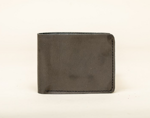 Leather Wallet - Card Holder - 6 Card Pockets and 2 Compartments - Cowhide Leather - Vegetable Tanned - 100% Handmade - Chicatolia