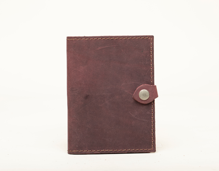 Leather Passport Holder - Chicatolia