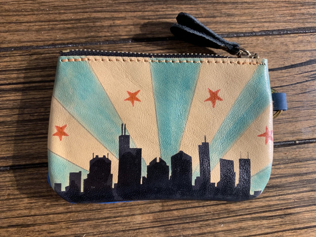 HP-M12 Chicago-Skyline Wallet - Chicatolia