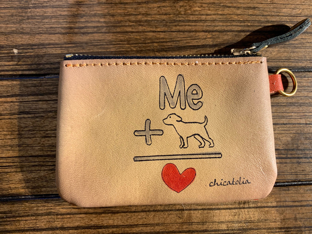 HP-M68 Me and Dog Wallet - Chicatolia