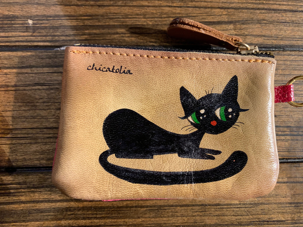 HP-M8 Black-Cat Wallet - Chicatolia