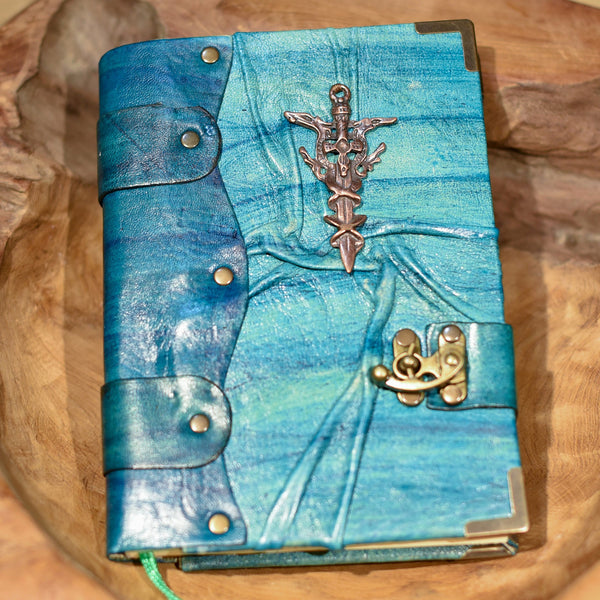 Belt Strap Leather Journal - Sword - Chicatolia