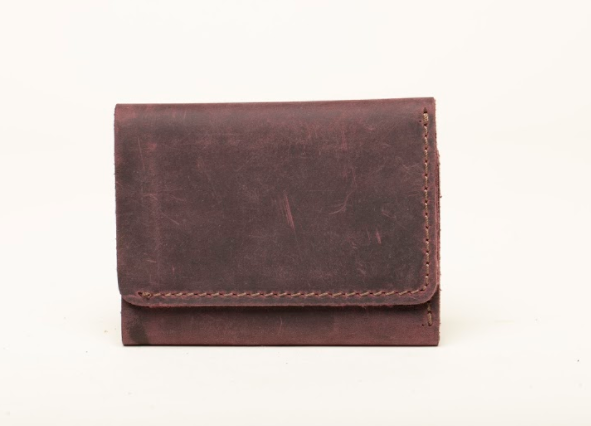 Card Holder - Leather Wallet - 4 Card Pockets - 1 Full Length - Cowhide Leather - Vegetable Tanned - 100% Handmade chicatolia.myshopify.comChicatolia