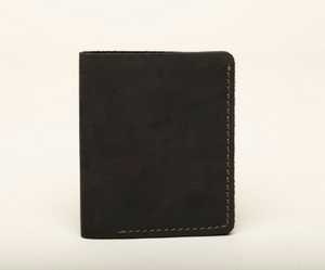 Card Holder - 4 Compartments - Cowhide Leather - Vegetable Tanned - 100% Handmade - Chicatolia