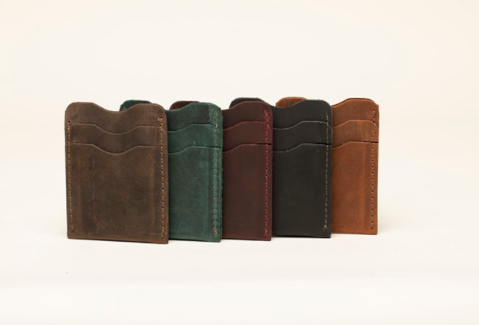 Card Holder - 5 compartments - Cowhide Leather - Vegetable Tanned - 100% Handmade chicatolia.myshopify.comChicatolia