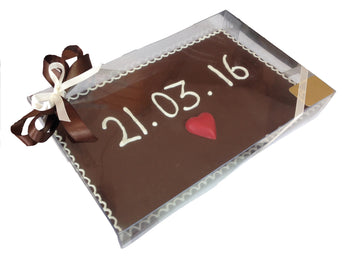 Placa chocolate