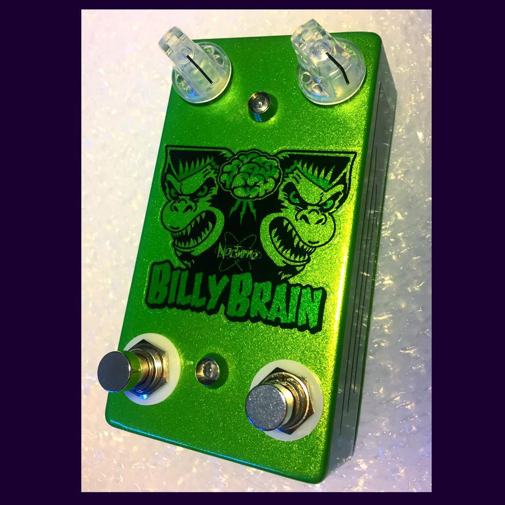 The NOCTURNE 'BILLY BRAIN™ preamp(master vol amp version)