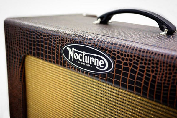 "Nocturne BETTIE BLONDESHELL '63 8""x12"" combo, Octal Tube amp"
