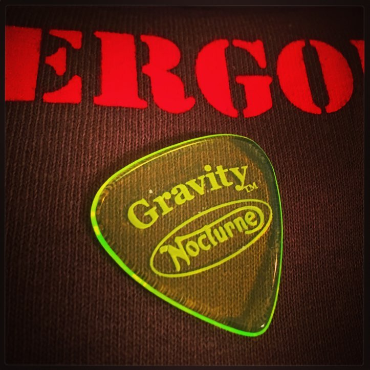 The Nocturne brain™ Logo pick by Gravity™