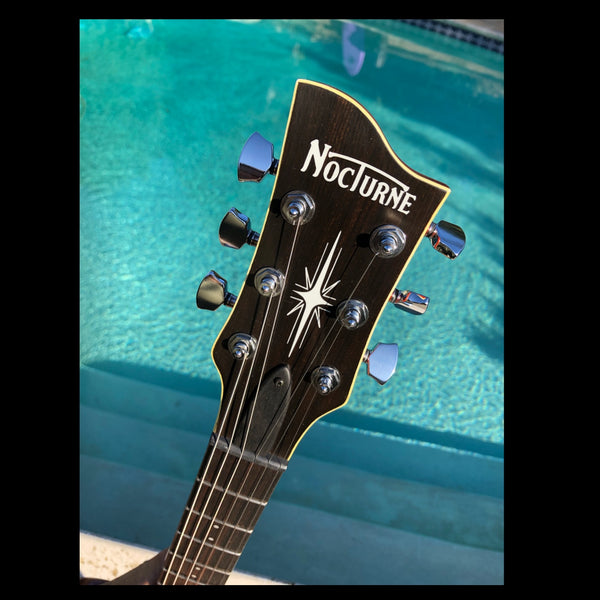 The Nocturne ROOSTER Guitar - My ultimate instrument for Nocturne Amps & Pedals, is now Yours!