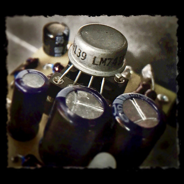 DYNOBRAIN™ Preamp ( w NOS Metal Can Opamp by Nat. Semiconductor)