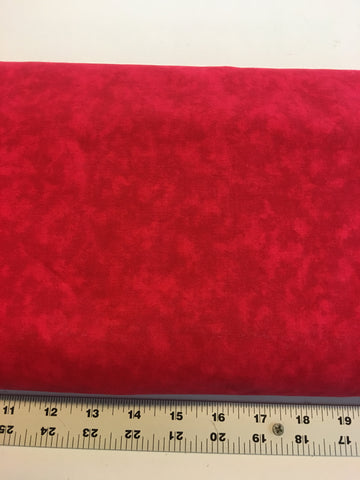 "108"" Wide Quilt Backing, #520, Red Blender 1513, by the yard"