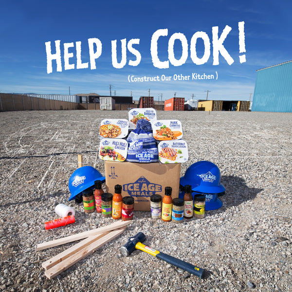 Help Us COOK (Construct Our Other Kitchen)!!! The next step for Ice Age Meals.