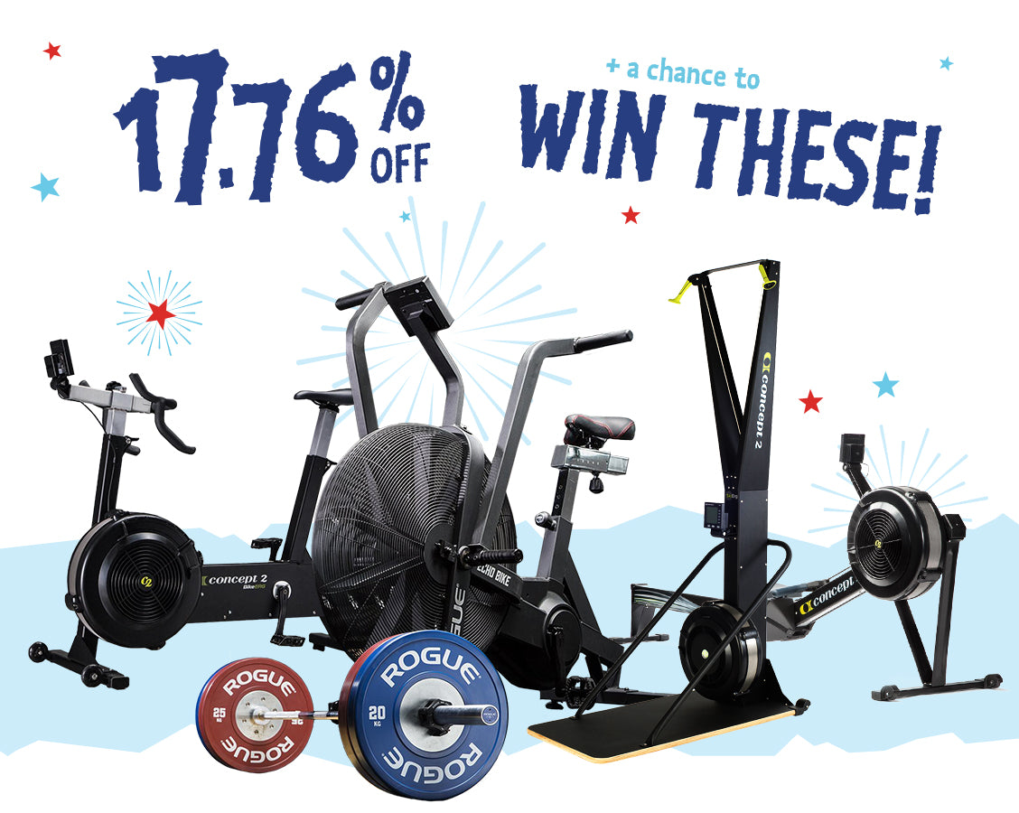 Happy Fourth!!! Save BIG with 17.76% OFF and over $5,000 in Prizes!