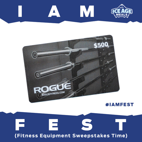 Win A $500 Rogue Fitness Gift Card!!!