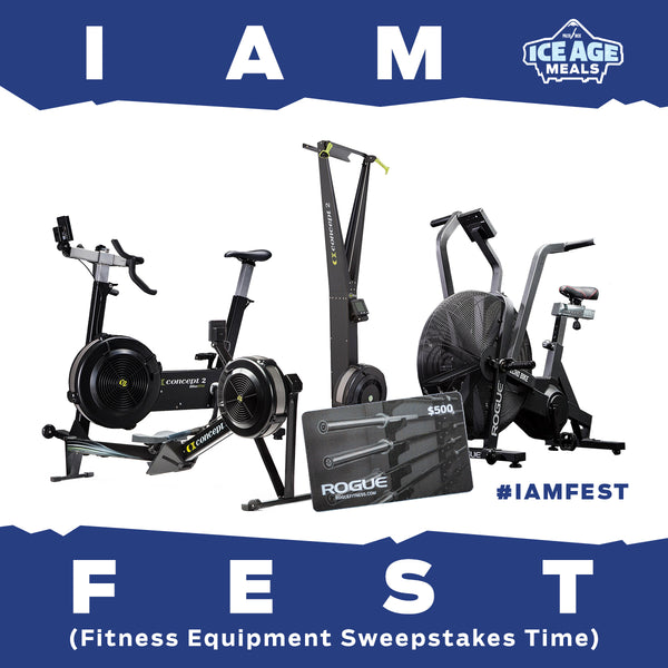 IAM FEST!!! Ice Age Meals Fitness Equipment Sweepstakes Time!!!