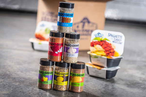 FREE 6-Pack of PALEO GRIND SPICES With Any Purchase!!!