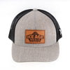 IAM FlexFit Snapback Trucker Heather Grey/Black - Paleo Meals and Paleo Samplers