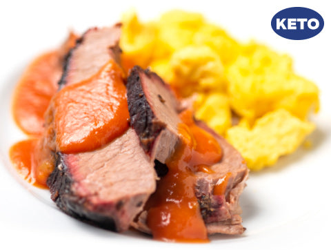 Smoked Brisket and Eggs (Keto) (Box) - Paleo Meals and Paleo Samplers
