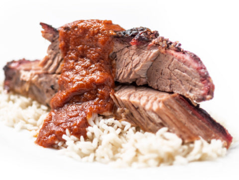 Smoked Brisket and Rice (Box)