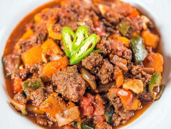 Chipotle Turkey Chili with Butternut Squash (Box) - Paleo Meals and Paleo Samplers