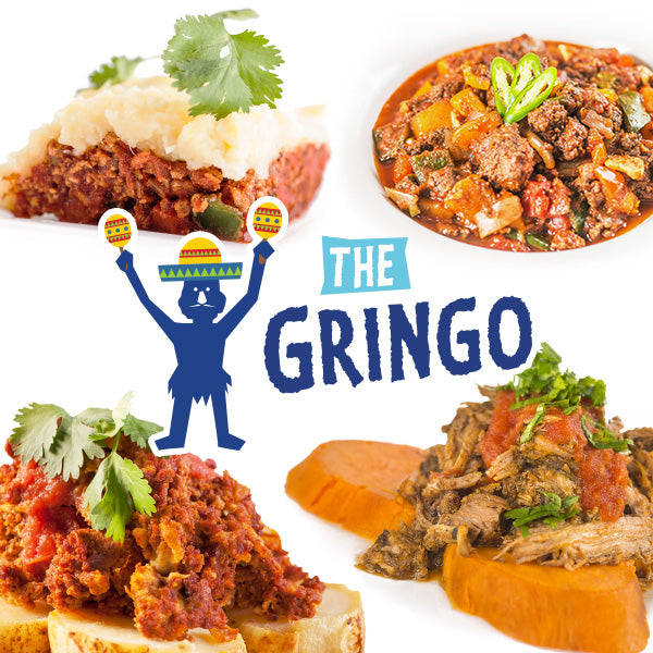 """The Gringo"" Meal Value Pack - Paleo Meals and Paleo Samplers"