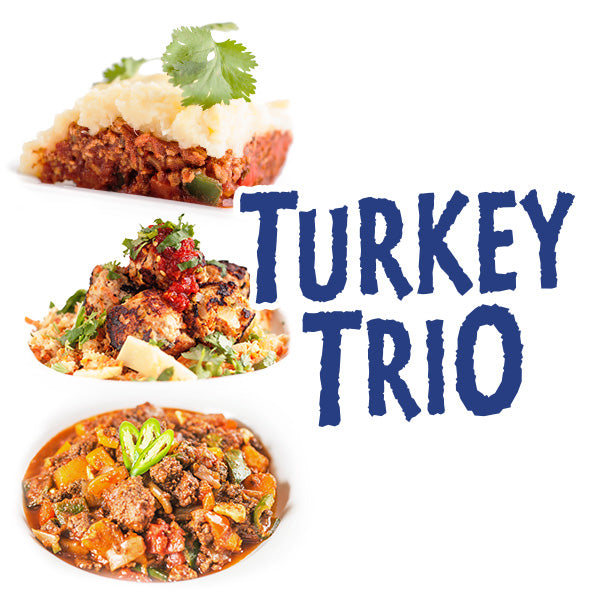 Turkey Trio - Sampler Pack - Paleo Meals and Paleo Samplers
