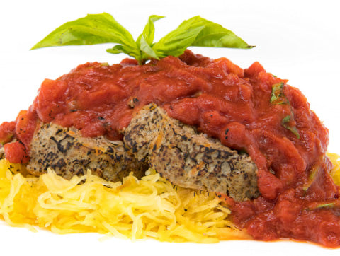 Spaghetti and Meatloaf - Beef - Paleo Meals and Paleo Samplers